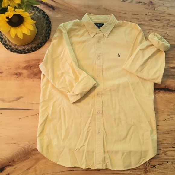 Polo by Ralph Lauren Other - Polo Ralph Lauren Oxford Button Down - Yellow